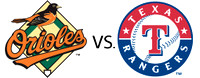 June 27 - Orioles vs Rangers (playoff game)