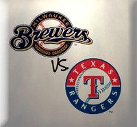 June 23 - Brewers vs Rangers