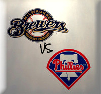 June 6 - Brewers vs Phillies